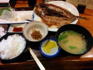こふじ@札幌のほっけ定食