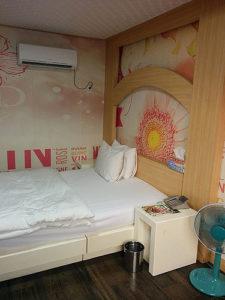 HAI2015で大邱のラブホに宿泊.シングルユース.