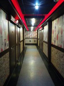 HAI'15大邱のラブホテルの廊下.